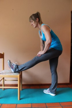 alternative hamstring stretch X; 27