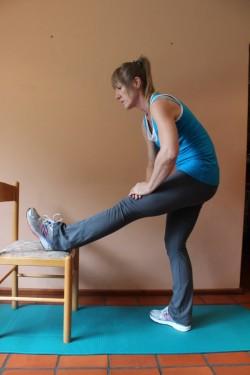 alternative hamstring stretch XX; p29
