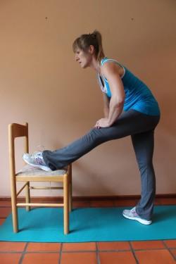 alternative hamstring stretch; p26