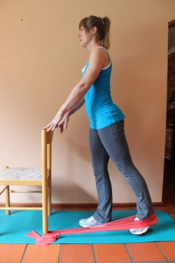 hip extension in standing 2; p49