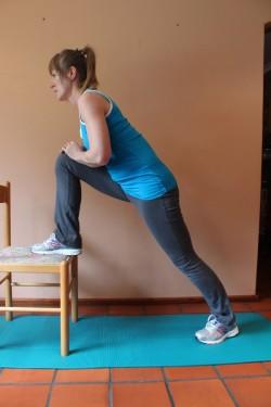 hip flexor stretch X ; p52