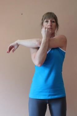 horizontal adduction stretch; p53